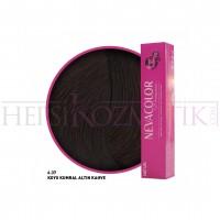 Nevacolor Premium Saç Boyası 6.37 Koyu Kumral Altın Kahve 50 Ml