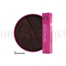 Nevacolor Premium Saç Boyası 6.7 Çikolata Kahve 50 Ml
