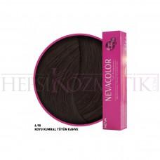 Nevacolor Premium Saç Boyası 6.90 Koyu Kumral Tütün Kahve 50 Ml