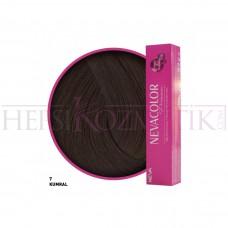 Nevacolor Premium Saç Boyası 7 Kumral 50 Ml