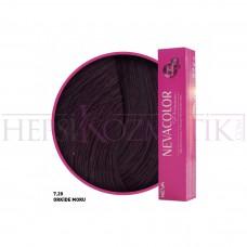 Nevacolor Premium Saç Boyası 7.20 Orkide Moru 50 Ml
