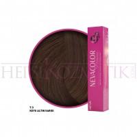 Nevacolor Premium Saç Boyası 7.3 Koyu Altın Sarısı 50 Ml