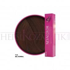 Nevacolor Premium Saç Boyası 7.32 Bal Kumral 50 Ml