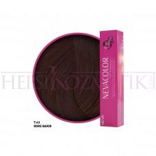 Nevacolor Premium Saç Boyası 7.43 Dore Bakır 50 Ml