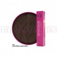 Nevacolor Premium Saç Boyası 8.70 Açık Kumral Kakao Kahve 50 Ml