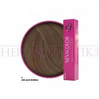 Nevacolor Premium Saç Boyası 9 Çok Açık Kumral 50 Ml