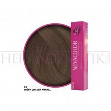 Nevacolor Premium Saç Boyası 9.0 Yoğun Çok Açık Kumral 50 Ml