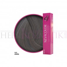 Nevacolor Premium Saç Boyası 9.01 Gümüş 50 Ml