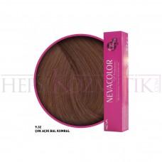 Nevacolor Premium Saç Boyası 9.32 Bal Kumral 50 Ml