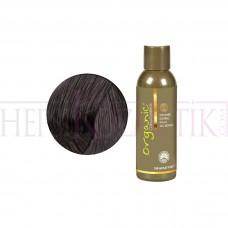 Organic Bitkisel Saç Boyası 4 AH Orta Kül Kahve 150 Ml
