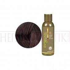 Organic Bitkisel Saç Boyası 4 GD Orta Altın Kahve 150 Ml