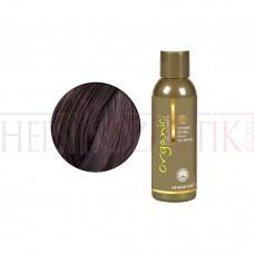 Organic Bitkisel Saç Boyası 4 MH Orta Maun Kahve150 Ml