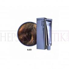 Selective Saç Boyası 6.03 Koyu Dore Sarı 60 Ml