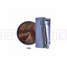 Selective Saç Boyası 7.03 Orta Dore Sarı 60 Ml