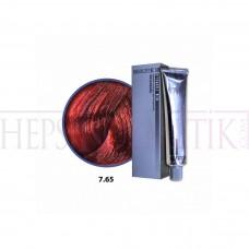 Selective Saç Boyası 7.65 Orta Kızıl Mahogany 60 Ml