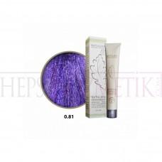 Seven Pigments Organic Saç Boyası 0.81 Mix Yoğun Viyole 60 Ml