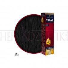 Vital Saç Boyası 1.0 Siyah 60 Ml