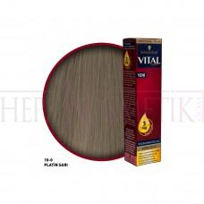 Vital Saç Boyası 10.0 Platin Sarı 60 Ml