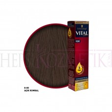 Vital Saç Boyası 8.00 Açık Kumral 60 Ml