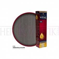 Vital Saç Boyası 9.11 Yoğun Küllü Platin Ml