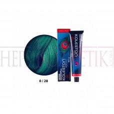 K.Perfect Saç Boyası 0/28 Mat Mavi 60 Ml