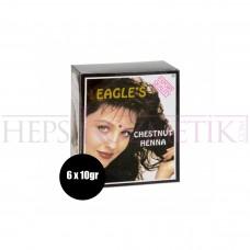 Eagles Saç Kınası Kestane 6 Adet