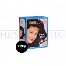 Eagles Saç Kınası Siyah 6lı