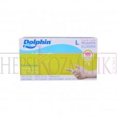 Dolphin Latex Eldiven L 100 Adet