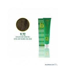 Bıorganic Plus Saç Boyası Çok Açık Sarı Soğuk Bej 9,72 60 Ml
