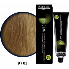 Inoa Saç Boyası 9,03 Sarı Hafif Dore 60 Ml
