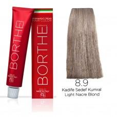 Borthe(Bosley) Saç Boyası 8.9 Kadife Sedef Kumral 60 Ml.