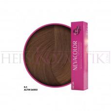 Nevacolor Premium Saç Boyası 8.3 Altın Sarısı 50 Ml
