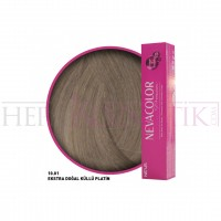 Nevacolor Premium Saç Boyası 10.01 Ekstra Doğal Küllü Platin 50 Ml
