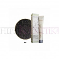 Seven Pigments Organic Saç Boyası 2.0 Çok Koyu Kahve 60 Ml