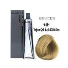 Selective Saç Boyası 9.011 Yoğun Açık Küllü Sarı 60 Ml